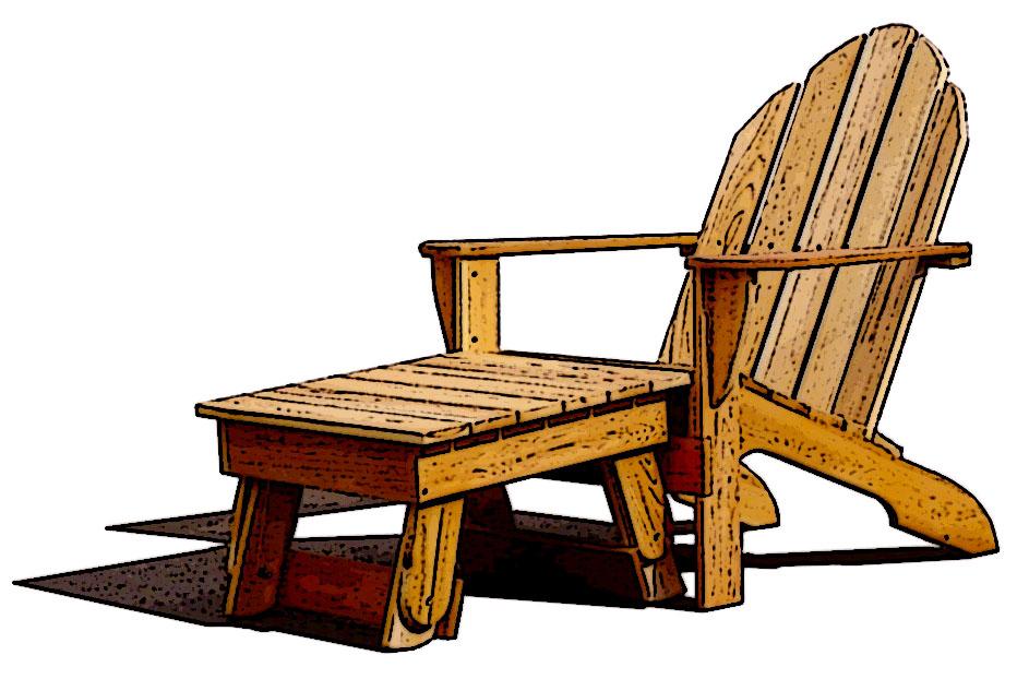 brilliant adirondack chair sketch i on decor